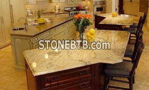 Countertop White Black Red