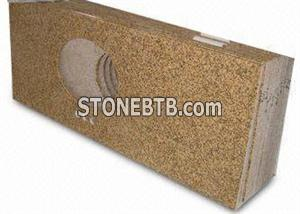 Granite Vanity Top, Available with Ceramic or Stainless Steel Sinks