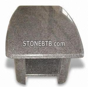 Countertop with Bull Nose Edge Processing - WFCMTT002