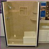 bathtub include 4 piece panels and 2 piece soap dishes
