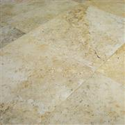 Honed and Unfilled Classic Travertine