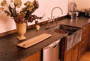 SOAPSTONE counters and sinks