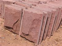 Cheap red sandstone