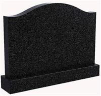 Cheap black granite grave stone