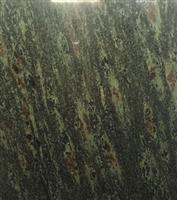 peacock tail green granite