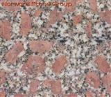 Pearl red granite