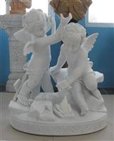 carving marble angels