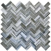 Chevron Eastern Stone - Decorative Mosaics