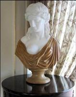 Marble Female Bust Statue