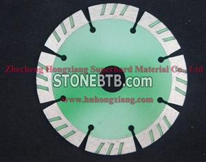 114mm diamond saw blade for tiles, segment, turbo