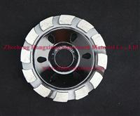 "4"" diamond turbo grinding cup wheel for stone"