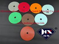 "4""/100mm wet diamond polishing pad for stone, marble, granite etc"