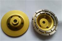 125mm, grit 40# diamond cup wheel for stone grinding, double row segment