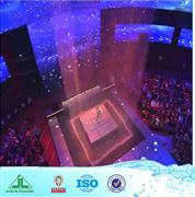 fiber optic curtain lighting Optical Fiber Water Curtain