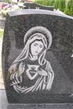 beautiful chinese black granite tombstone