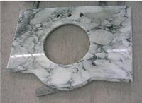 Bathroom marble vanity tops