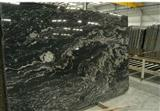 Cosmic Black Granite, Ganges Black Slabs
