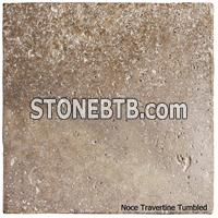 Tumbled Travertine Noce, Antalya Dark Travertine
