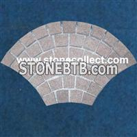 Red Porphyr Cube Stone, Cobble Stone, Paving