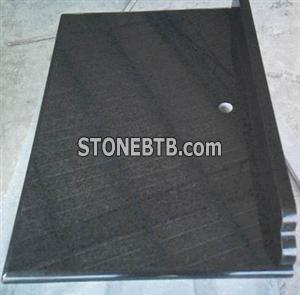 Black Pearl Granite Countertop of 61 x22 x2cm
