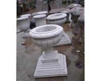 Marble Sculpture Flower Pots