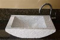 Granite Basin Kitchen Sink Basin Stone