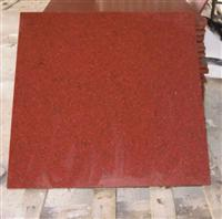 chinese dyed red granite