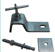 Wall mounting anchor for stone cladding