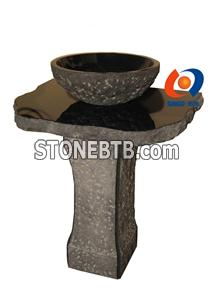 Nature Stone Sink with polished honed finish