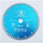 Cutting Granite Marble Turbo Diamond Blade