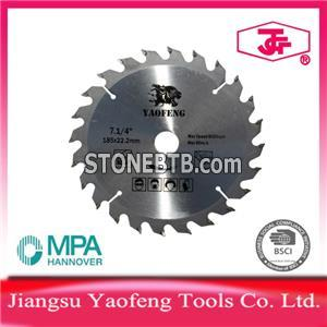 185mm 24 Tooth Tct Saw Blade