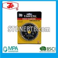 115mm Turbo Diamond Saw Blade Hot Pressed