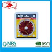 114mm Cold Pressed Sintered Segmented Saw Blade
