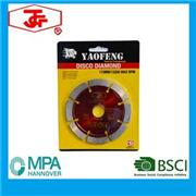 114mm Segmented Saw Blade Cold Pressed