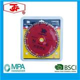 180mm Oblique Tooth Protection Turbo Wave Diamond Saw Blade