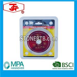 114mm Diamond Saw Blade For Wet Cutting