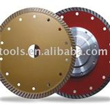 Super Turbo T-shape Diamond Saw Blade For Hard Marble