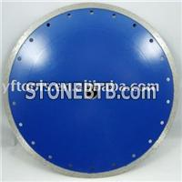 Hot Pressed Continuous Diamond Saw Blade---wet Cutting