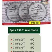 3PC TCT Saw Blades Set(Passed MPA certificate)