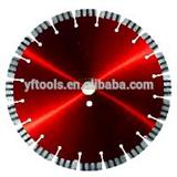 Golden Laser Diamond Saw Blade For Hard Granite