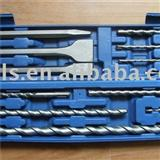 12 Pcs SDS Hammer Drill Bit Sets