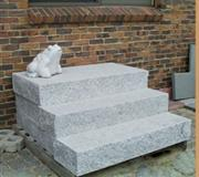 Handcut Granite Steps