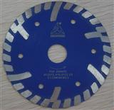Sintered Continuous Rim Bevel Turbo Blades
