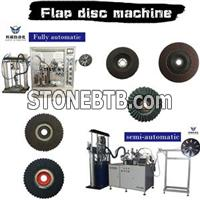 Abrasive Flap Disc Machine