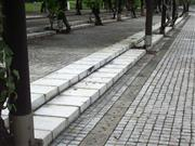 Grey Granite Cobble Paving