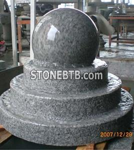 Stone Balls Rolling Sphere