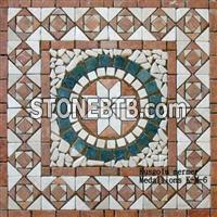 Marble Travertine Medallions K-M-6