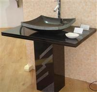 Good Quality & Reasonable Price Black Granite & Marble Wash Basins from China