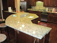 Good Quality & Reasonable Price Yellow Granite & Marble Vanity tops & Countertops from China