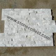 white quartzite wall cultured stone,ledge stone